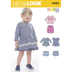 New Look Pattern 6484 Babies' Wardrobe Pieces