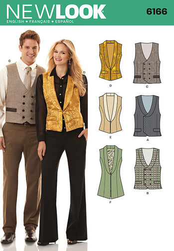Misses' and Men's Vest