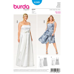 Burda Style Pattern B6548 Women's Strap Dress