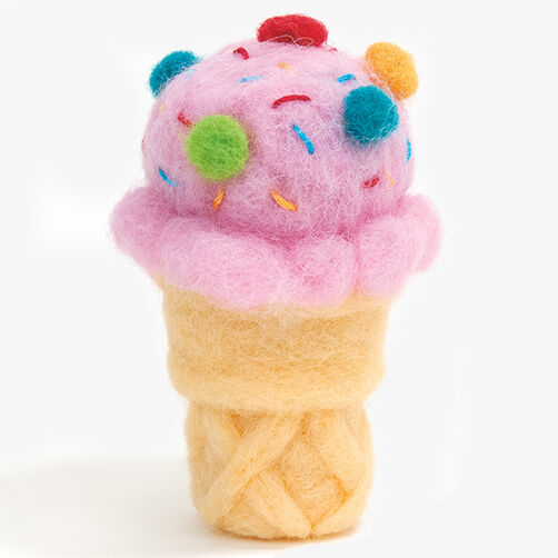 Ice Cream Cone Kit in Needle Felting_72-74027