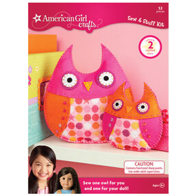 Owls Sew and Stuff Kit_30-675049