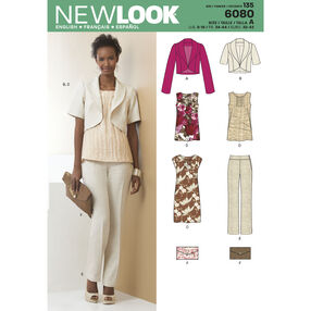 New Look Pattern 6080 Misses' Sportswear