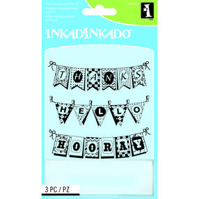 Pennants Clear Stamps_60-31274