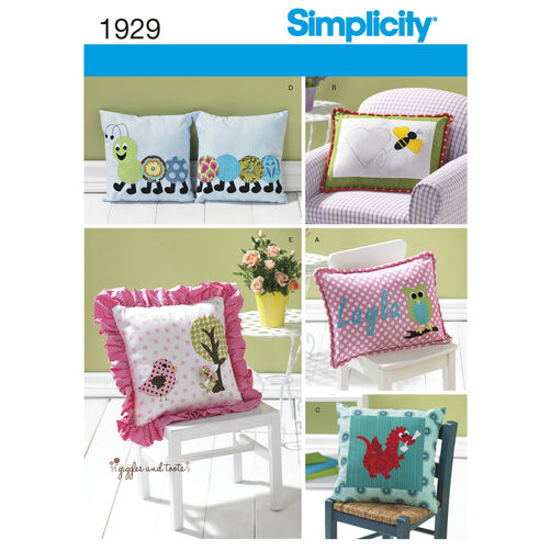 Simplicity Pattern 1929 Home Decorating