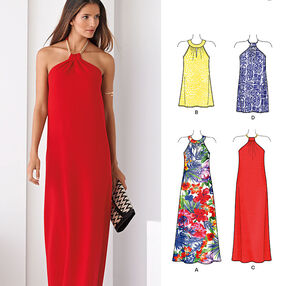 Misses' Dresses Each in Two Lengths
