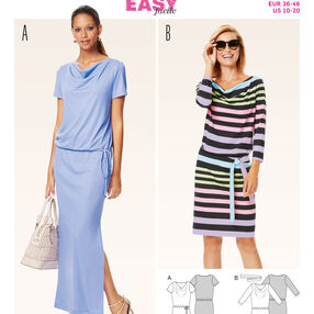 Burda Style Pattern 6639 Misses' Dress