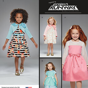 Toddlers' and Child's Project Runway Dresses