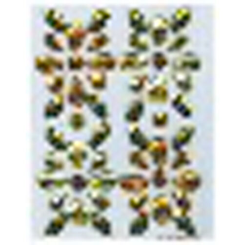 Sunflower Gem Stickers_M860605