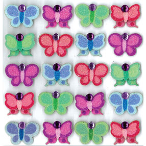 Bright Butterflies Repeat Stickers _50-20710