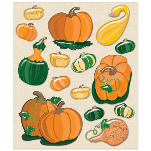 Pumpkins+Squash Sticker Medley_30-586000