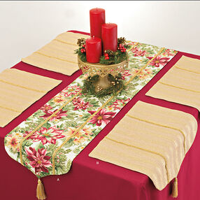 It's So Easy Table Runner and Placemats