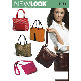 New Look Pattern 6425 Bags