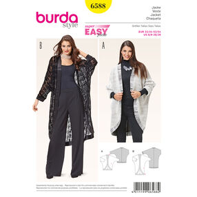 Burda Style Pattern 6588 Jacket