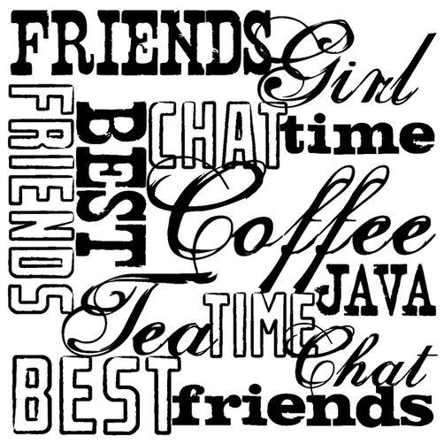 Friends Words_60-30133