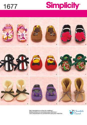 Baby Shoes in Three Sizes