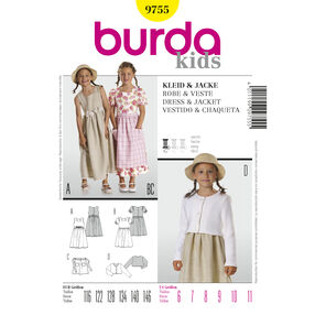 Burda Style Pattern 9755 Dress & Jacket