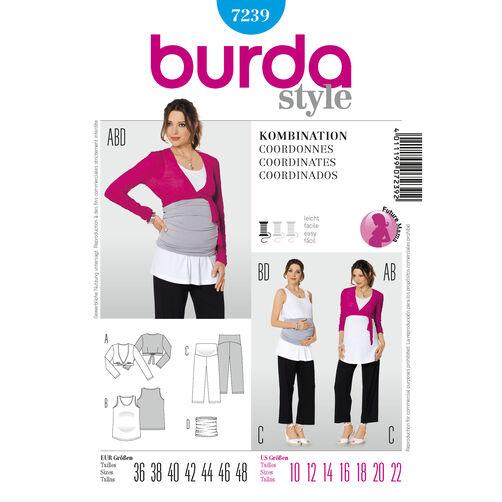 Burda Style Pattern 7239 Coordinates