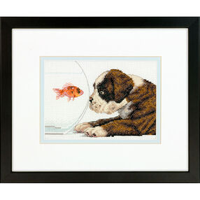 Dog Bowl, Counted Cross Stitch_70-65169