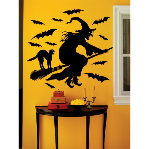 Witch Wall Cling_44-10163