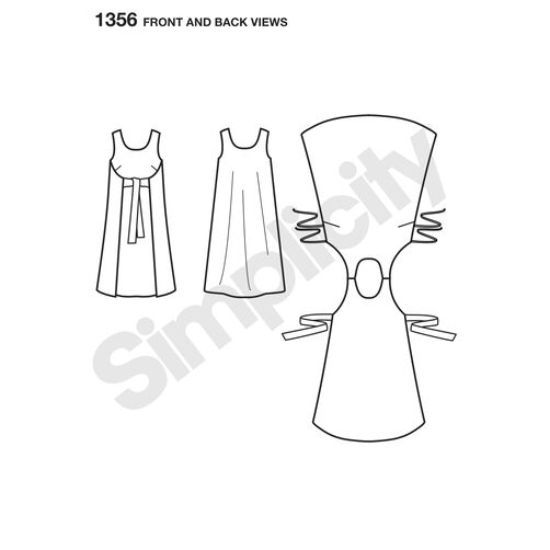 Pattern for Misses' Vintage Jiffy® Reversible Wrap Dress