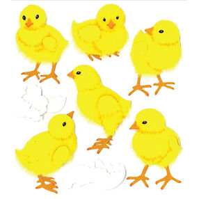 Baby Chicks Stickers_50-20535