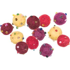 Warm Mini Wool Felt Balls_73319