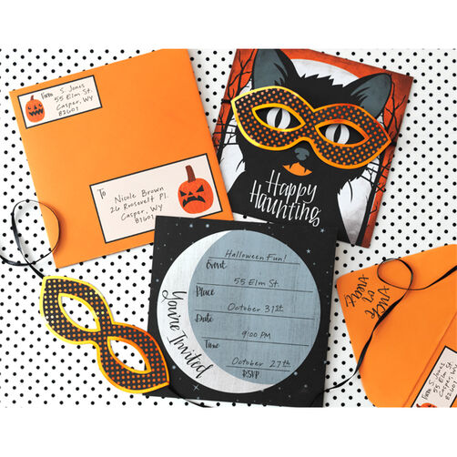 Animal Masquerade Invitation Kit_48-20265