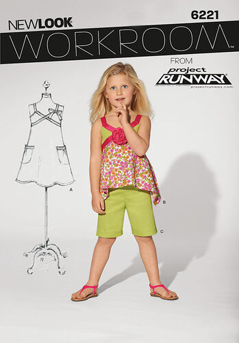 Child's Dress, Top and Shorts