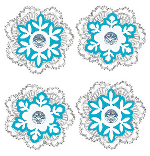 Lace Snowflake Stickers_50-21314
