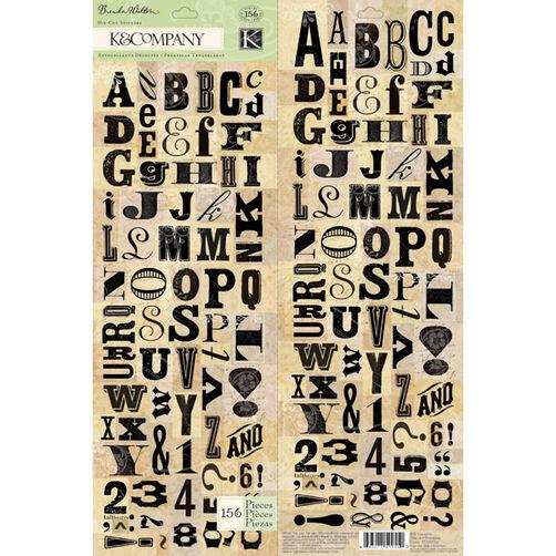 Brenda Walton Flora & Fauna Alphabet Die-cut Stickers_30-599550
