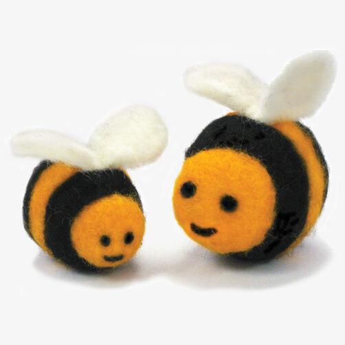 Round & Wooly Bees, Needle Felting_72-73908