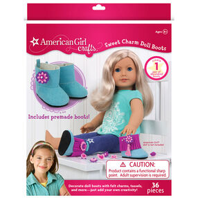 American Girl Sweet Charm Doll Boots_30-698925