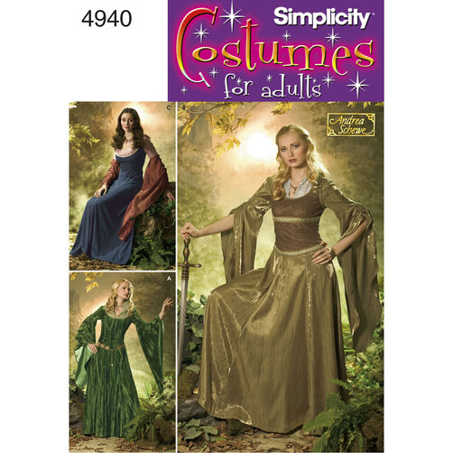 Simplicity Pattern 4940 Misses' Costumes