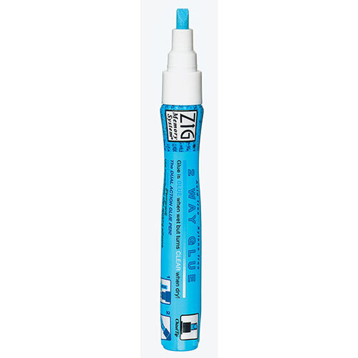 ZIG 2-WAY glue pen - chisel tip _MSB15