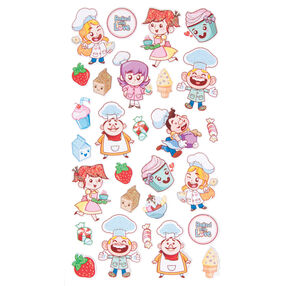 Baking Friends Stickers_52-00098