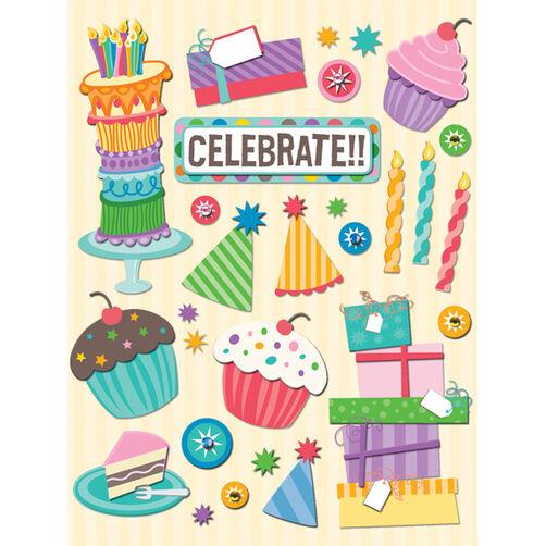 Confetti Birthday Icon Grand Adhesions_30-401570