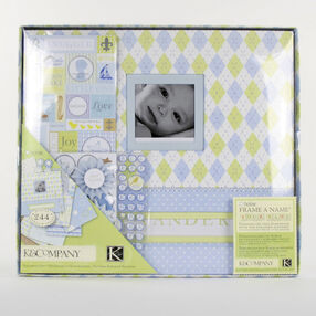 Little House Baby Boy 12x12 Boxed Scrapbook Kit_30-243460