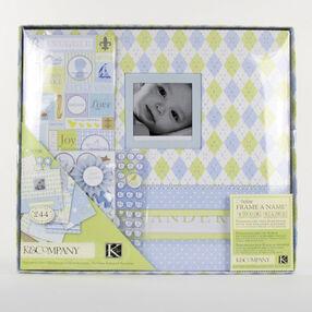 Little House Baby Boy 12x12 Boxed Scrapbook Kit_30-243460