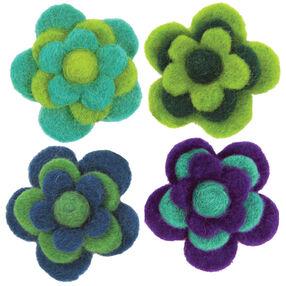 Layered Cool Wool Felt Flowers_72-73828
