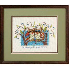 Owl Always Be Your Friend, Stamped Cross Stitch_73399