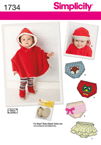 Babies' Poncho and Accessories