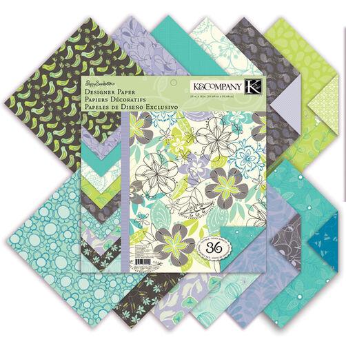Poppy Seed 12x12 Designer Paper Pad_30-390249