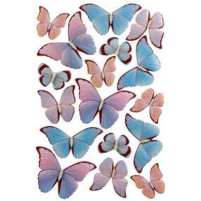 Pearl Garden Butterfly Stickers_41-06013