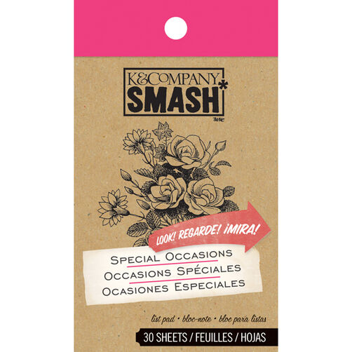 Special Occasions SMASH Pad_30-614857