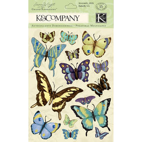 Susan Winget Botanical Butterfly Grand Adhesions_30-614451