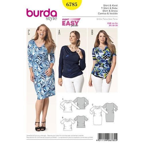 Burda Style Pattern 6785 Plus to size 60 (34)