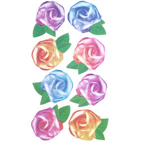 Tissue Roses Stickers_52-00113