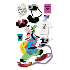 Tourist Goofy Dimensional Sticker_DJBM017