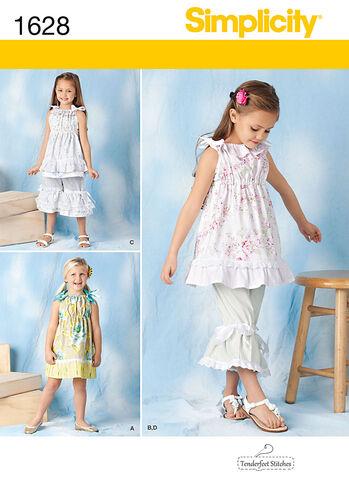 Child's Dress, Top & Pants