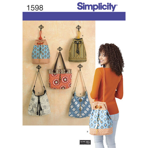 Simplicity Pattern 1598 Bags